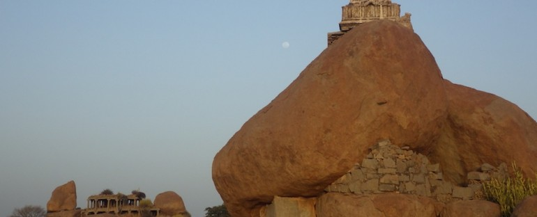 Birds and Chanting – Hampi, India