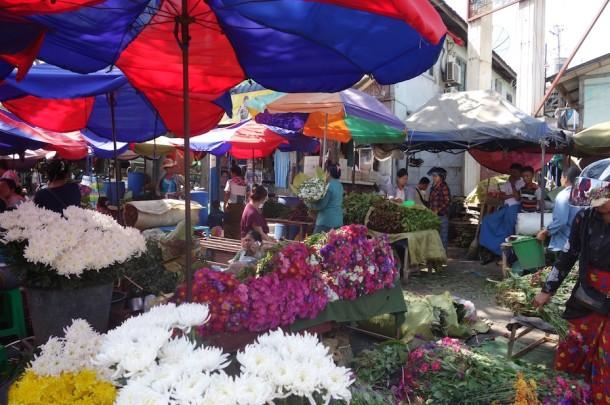 Flower Market – Mandalay, Myanmar2