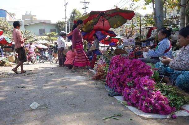 Flower Market – Mandalay, Myanmar3