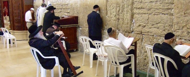 Western Wall Praying – Jerusalem, Israel