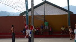Volleyball Game – Mindo, Ecuador