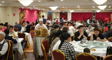 Dim Sum Restaurant - New York City, USA