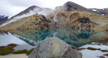 Fumerole - Tongariro National Park, New Zealand