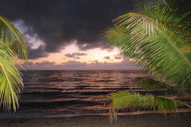 BELIZE9_Coastal Sunrise - Hopkins, Belize