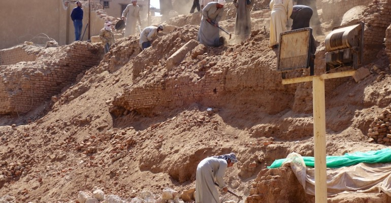 Excavation – Esna, Egypt