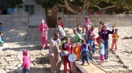 Kids Selling Baskets – El Kab, Egypt