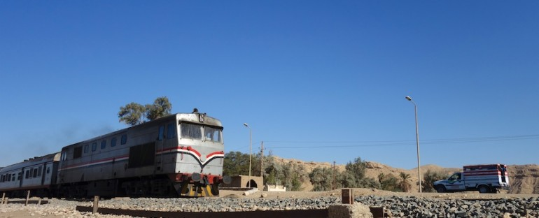 Train Pass – El Kab, Egypt