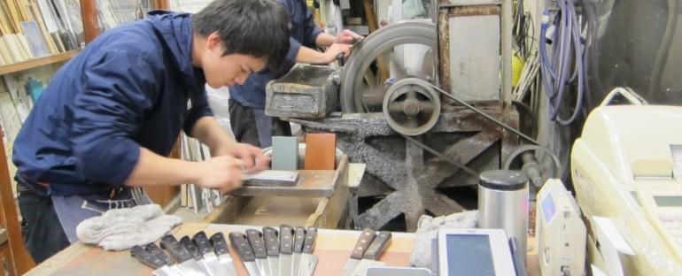 Knife Sharpening – Tokyo, Japan