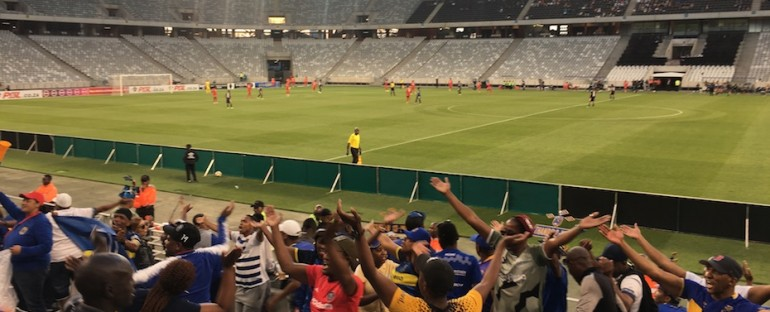 Cape Town City FC Match – Cape Town, South Africa