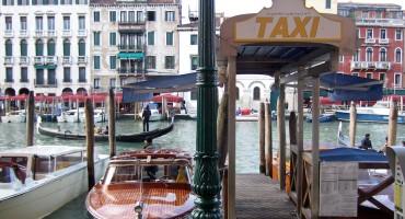 Boat Taxi – Venice, Italy