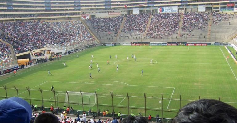 Football Match - Lima, Peru