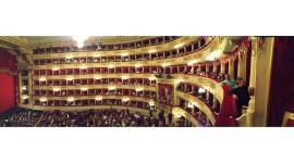 Intermission at La Scala – Milan, Italy