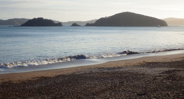 Ocean Before Dawn - Paihia, New Zealand