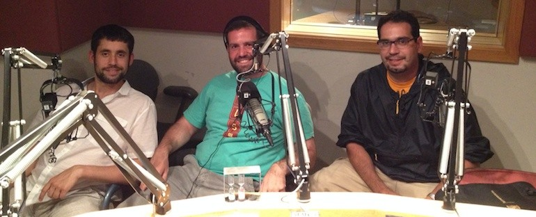 Marks Bros. Discuss The Touch of Sound on KFAI's Kinda Cloudy Radio.