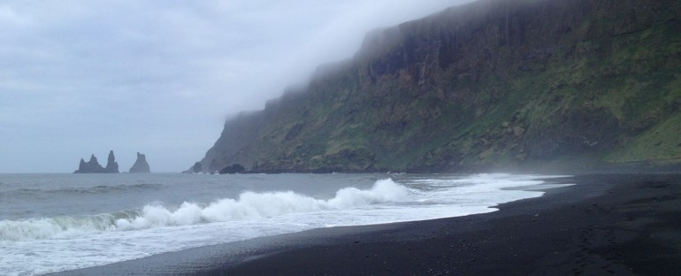 Ocean and Birds – Vik, Iceland