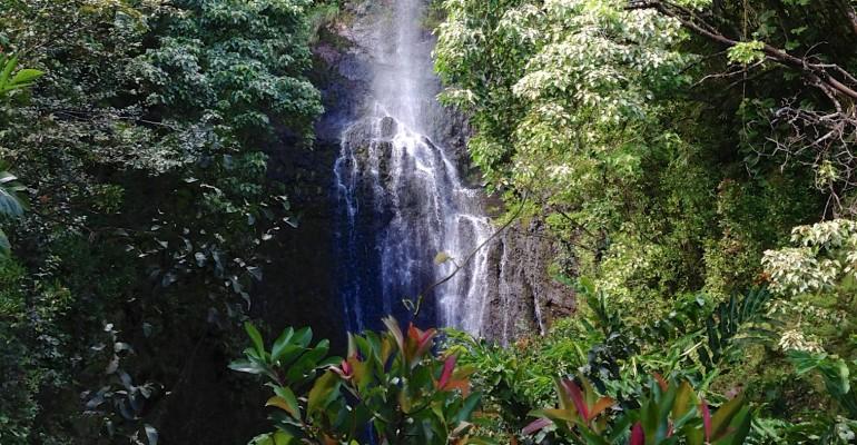 Road to Hana Waterfall – Hawaii, USA