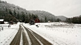 Snow Fall – Wisconsin, USA