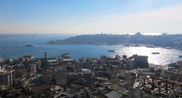 Atop the Galata Tower - Istanbul, Turkey