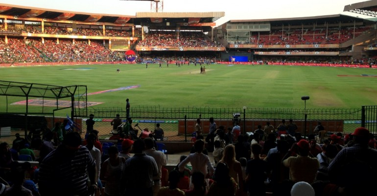 Cricket Match – Bangalore, India