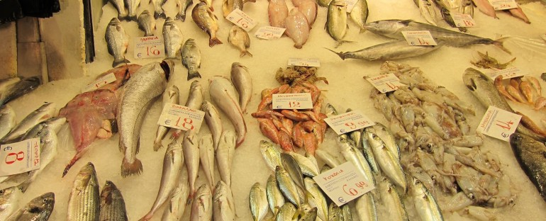 Fish Market – Thessaloniki, Greece