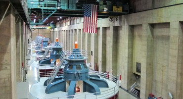 Hoover Dam Power Plant - Nevada, USA