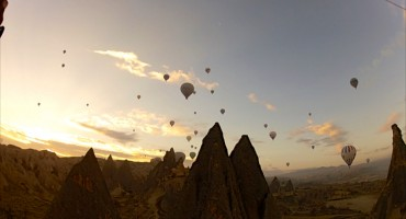 Hot Air Balloon Ride – Cappadocia, Turkey