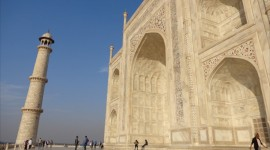 Inside the Taj Mahal – Agra, India