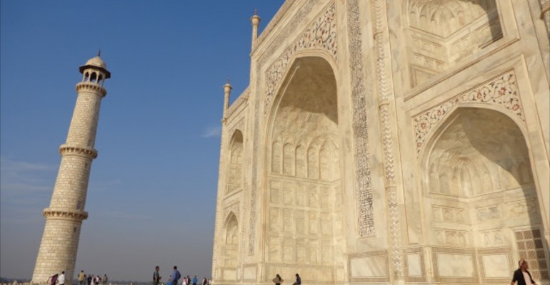 Inside the Taj Mahal – Agra, India