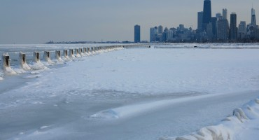 Lake Michigan Ice - Chicago, USA