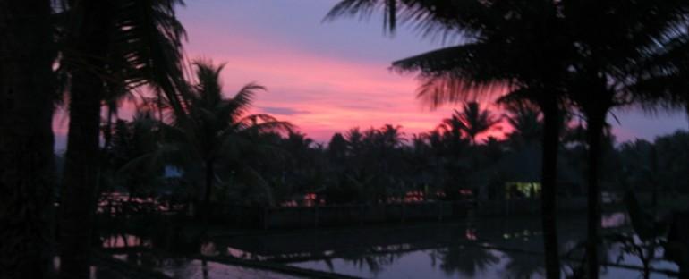 Nighttime in Ubud – Bali, Indonesia