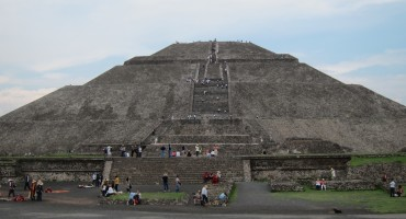 Pyramid of the Sun - Teotihuacan, Mexico