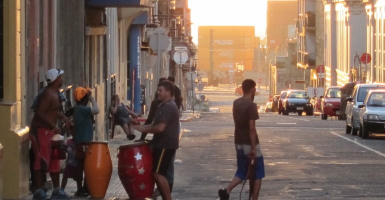 Street Drumming - Montevideo, Uruguay