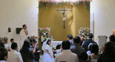 Sunday Mass - San Jerónimo, Mexico City