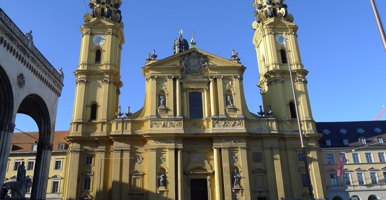 Theatine Church of St. Cajetan – Munich, Germany