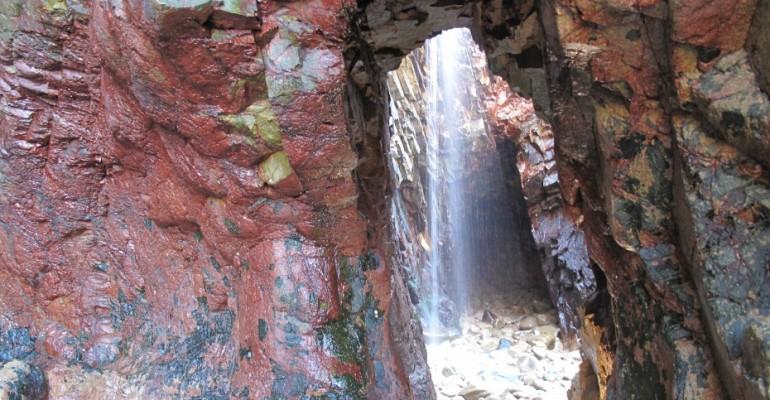 Waterfall – Plemont Bay, Jersey