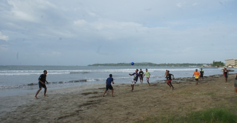 Beach Football – Bocas del Toro, Panama