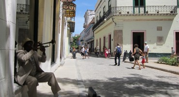 Trumpet Player – Old Havana, Cuba