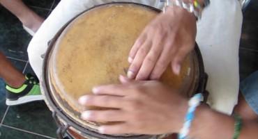 Master Drum Lesson - Matanzas, Cuba