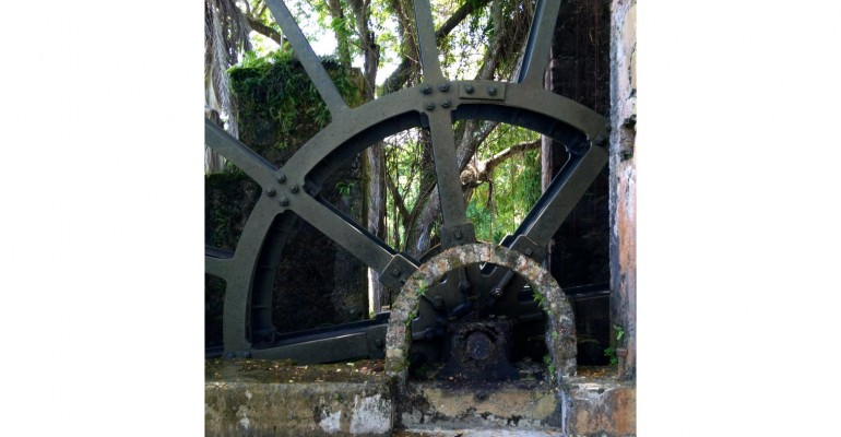 Water Wheel – Tryall, Jamaica