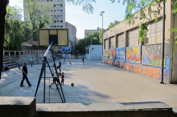 Street Basketball – Belgrade, Serbia
