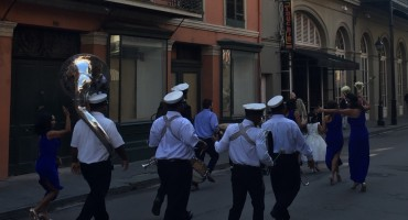 Second Line Wedding Parade – New Orleans, USA