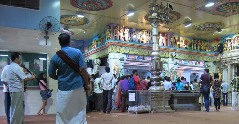 Sri Veeramakaliamman Temple Ceremony – Singapore