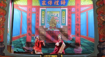 Chinese Puppet Show – Johor Bahru, Malaysia