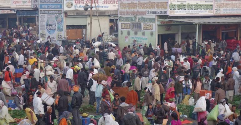 Morning Vegetable Market – Aurangabad, India