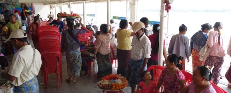 Ferry Vendors – Yangon, Myanmar