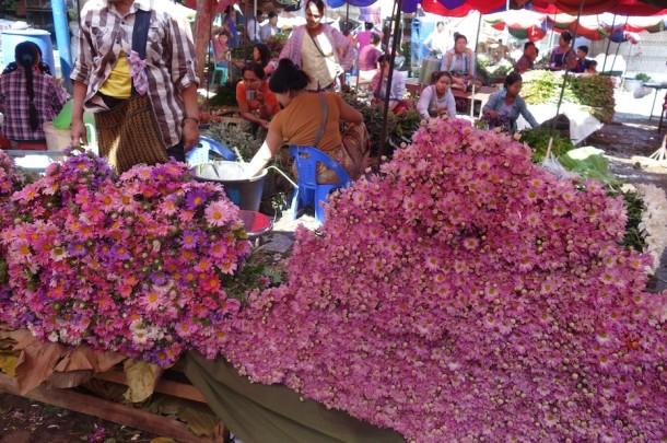 Flower Market – Mandalay, Myanmar