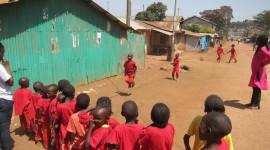 Kids Playing Jump Rope – Nairobi, Kenya