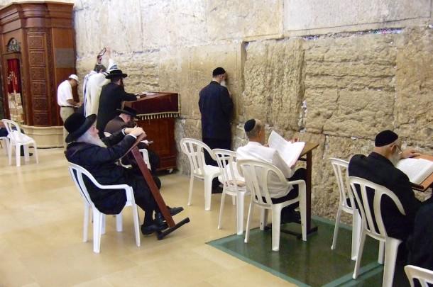 Western Wall Praying - Jerusalem, Israel