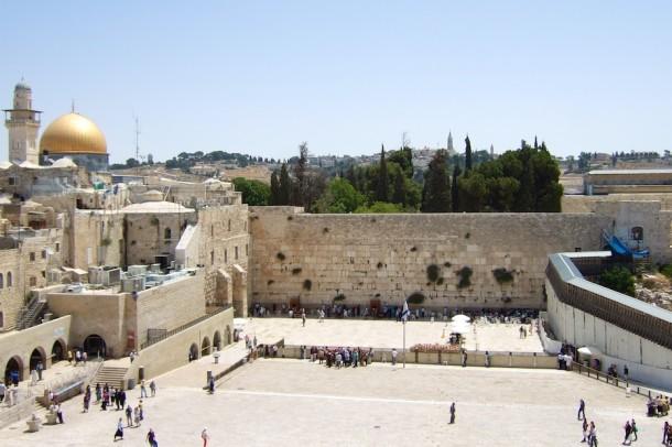 Western Wall Praying - Jerusalem, Israel2