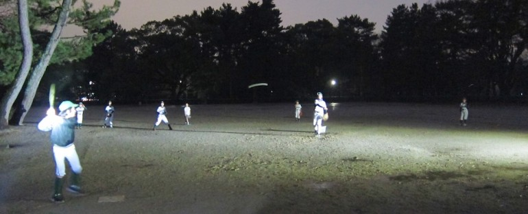 Youth Baseball Practice – Kyoto, Japan